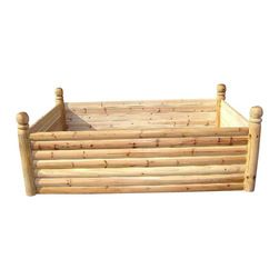 Outdoor Wood Planter Bench Outdoor Planters: Find Flower Pots and ...