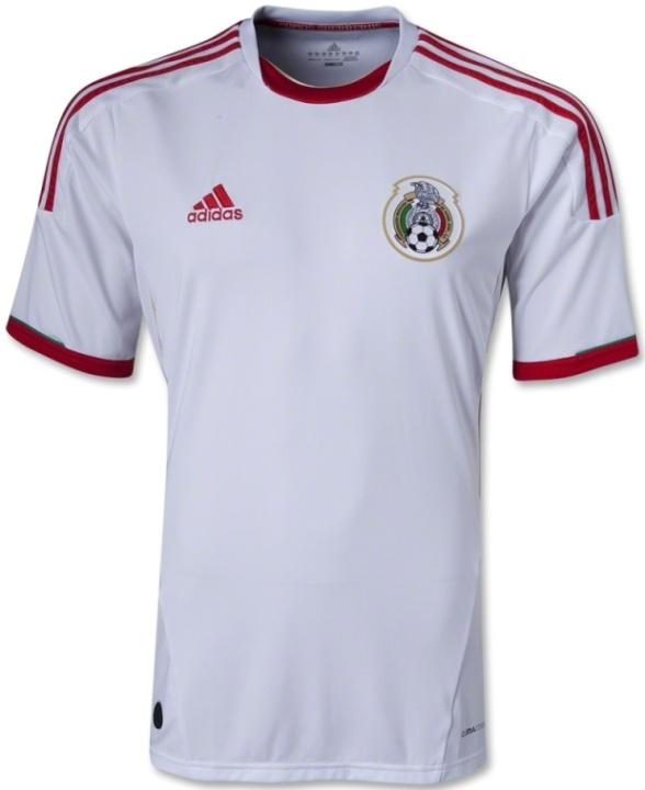 f49c30239e4ed Mexico Third Kit 2013 2014- Adidas White