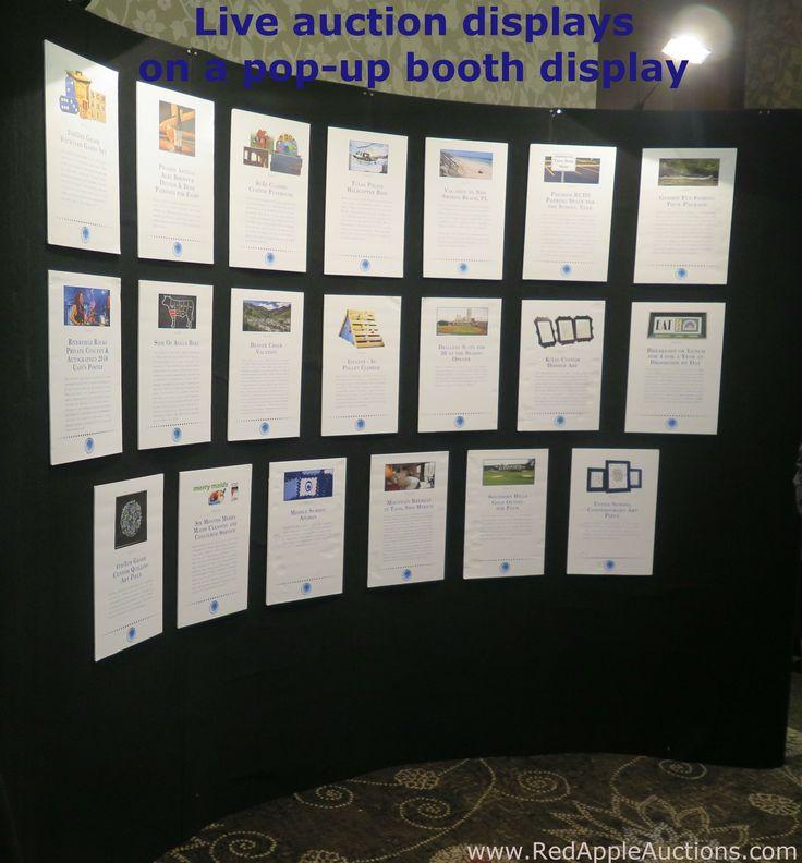 raffle display ideas