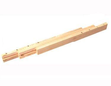 Glissières pour rallonge de table à quatre pattes - Glissières de table - Composantes de meuble & armoire - Composantes - Langevin Forest - Le bois, notre passion