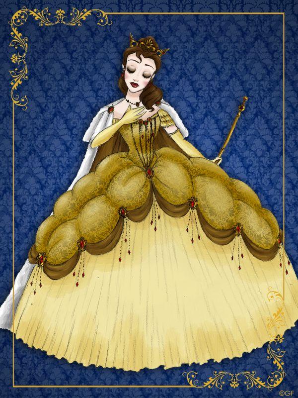 Queen Belle - Disney Queen designer collection by GFantasy92.deviantart.com on @deviantART