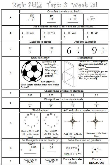 95 best school maths worksheets images on pinterest decimal improper fractions and math. Black Bedroom Furniture Sets. Home Design Ideas