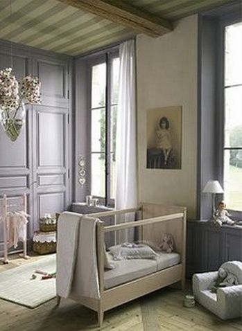 French Nursery via Roxan Beard.