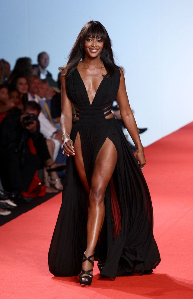Naomi Campbell Platform Sandals - Naomi Campbell Looks - StyleBistro
