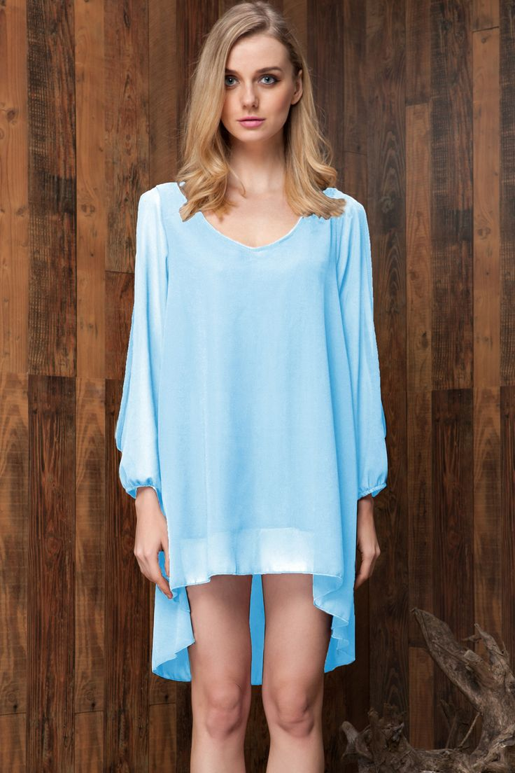 this white chiffon relaxed mini loose fit dress is bound to bring you extraordinary cool and fresh feeling this summer.