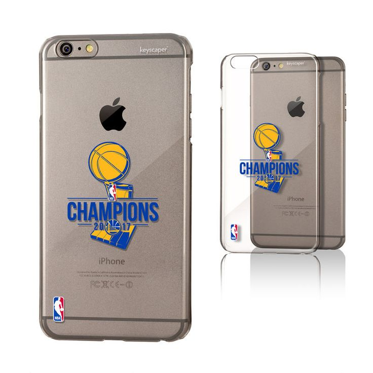 Golden State Warriors 2017 NBA Finals Champions iPhone 6+/6s+ Clear Case