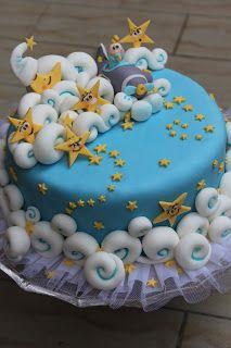 cookv@nill@: Torta decorata per un maschietto...