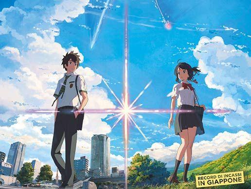 Cinquew News: Your Name., capolavoro di Makoto Shinkai, nominati...