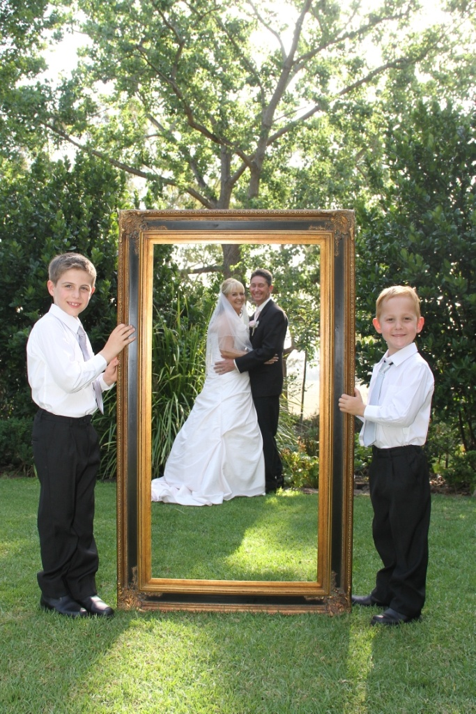Photos with frames.  Photography by Storybook Photography Australia - NSW.