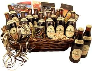 Guinness Greatness Beer Gift Basket -- Especially for Mother's Day!  :)