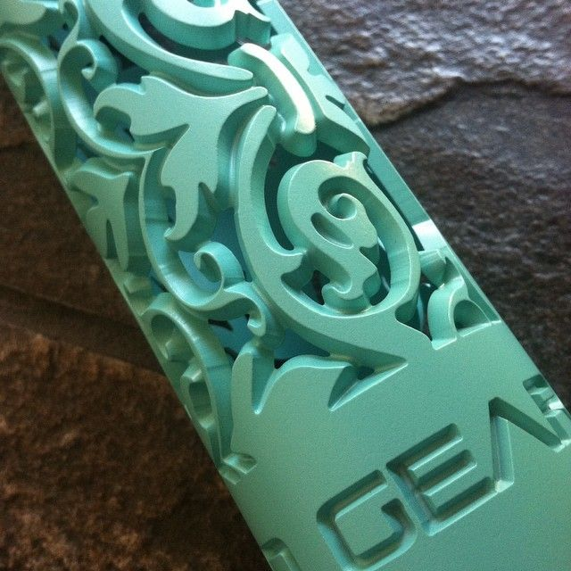 Who says your AR15 can't be Tiffany Blue?  Now available as a standard Cerakote color, Robin Egg Blue shown on our Fleur D Lis hand guard - turn that AR into a bad ass feminine AR15 with one of our super light hand guards!