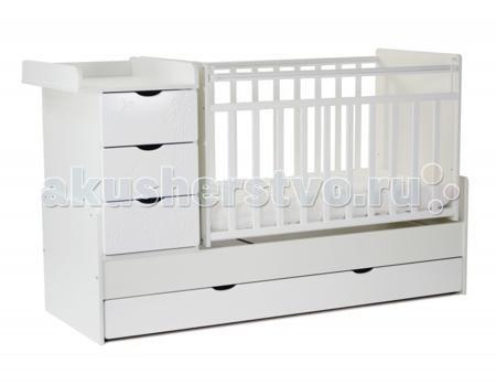 СКВ Компани СКВ-5 Жираф маятник поперечный  — 8485р. -----------  Кроватка-трансформер СКВ Компани СКВ-5 Жираф маятник поперечный  Кроватка этой модели хороша тем, что она имеет множество функций, которых нет в других детских кроватях. Помимо основного спального места, у кроватки имеется специальный пеленальный столик, на который можно посадить малыша и помимо пеленания можно его переодеть или собрать на прогулку. У кроватки есть 4 ящика, в которых вы сможете хранить все необходимые детские…