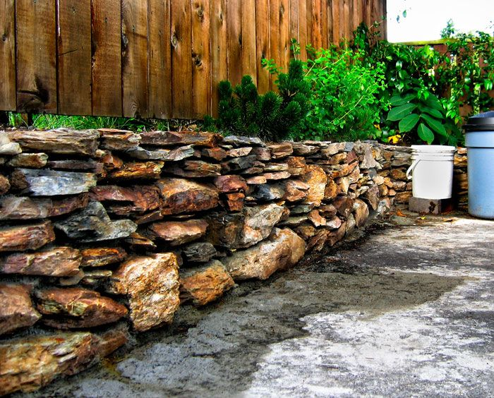 Awesome Rock Retaining Wall | River Rock Retaining Wall
