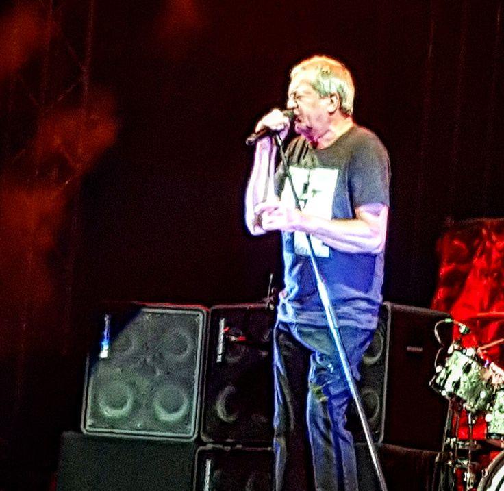 Ian Gillan of Deep Purple - last night at Romexpo, Bucharest