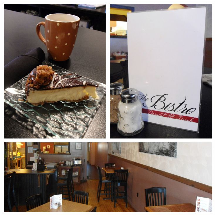 Stop for a break and treat yourself at The Bistro in downtown Goderich, Ontario.