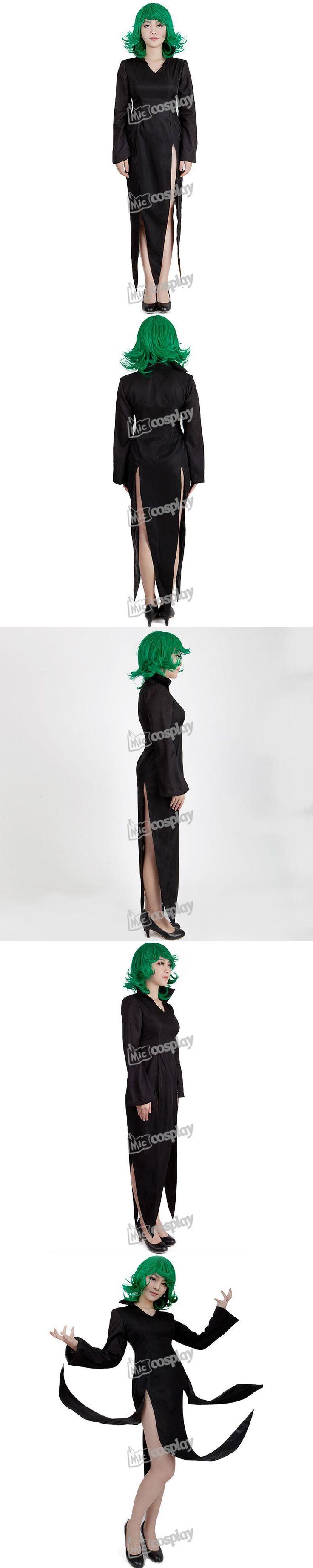 Anime Female One Punch Man Tornado of Terror Cosplay Costume Women Clothing Dress