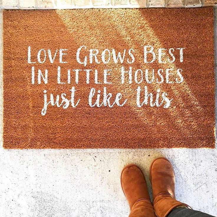 Love Grows Best, In Little Houses Just Like This