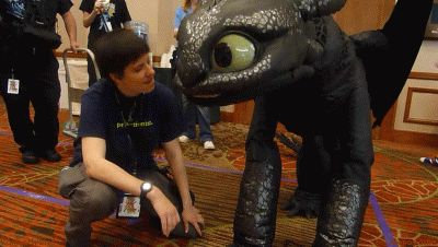 Toothless, How to Train Your Dragon, Best Brofist by =CanineHybrid; Costumes & Cosplay