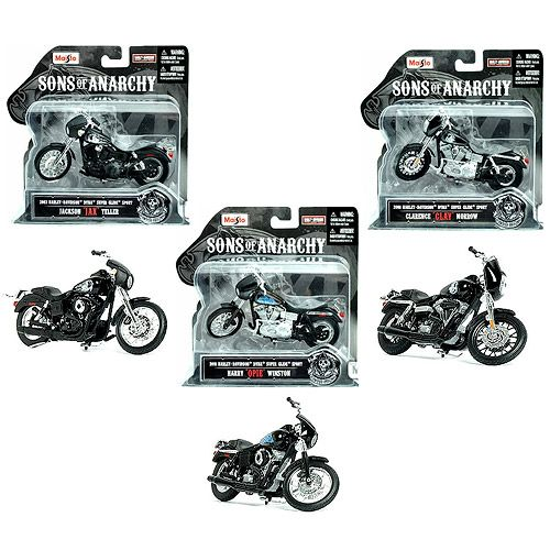 Sons of Anarchy 1:18 Scale Die-Cast Motorcycle Vehicle Set - Maisto - Sons of Anarchy - Vehicles: Die-Cast at Entertainment Earth