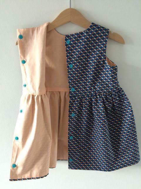 De welbekende Grace-jurk van Emma en Mona ( gratis patroon kan je vinden op de blog van Emma en Mona, klik hier )   Ik maakte d...