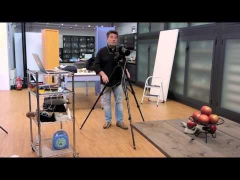 Light Painting - Light Art - Renato Marcialis - Caravaggio in Cucina, fotografie come quadri