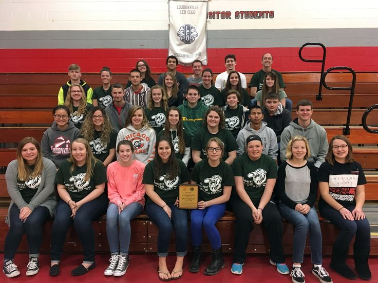 Congratulations to Loudonville High School for winning the Leo Club of the Year Award within Ohio District II.