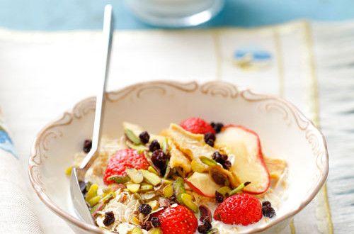 Meyveli Yulaf Ezmesi   Mutfakta Yemek Tarifleri