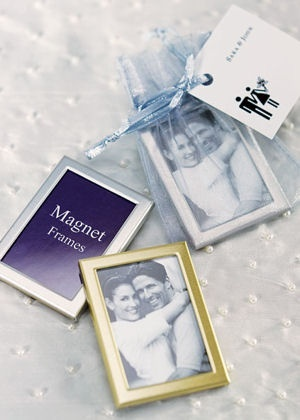 Magnet Back Mini Photo Frames (Set of 3) from Wedding Favors Unlimited