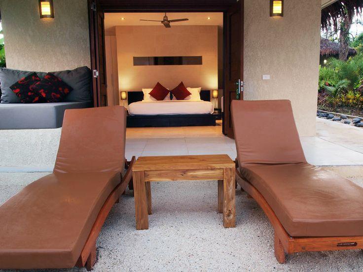 Contemporary designed accommodation at The Havannah, Vanuatu  www.islandescapes.com.au
