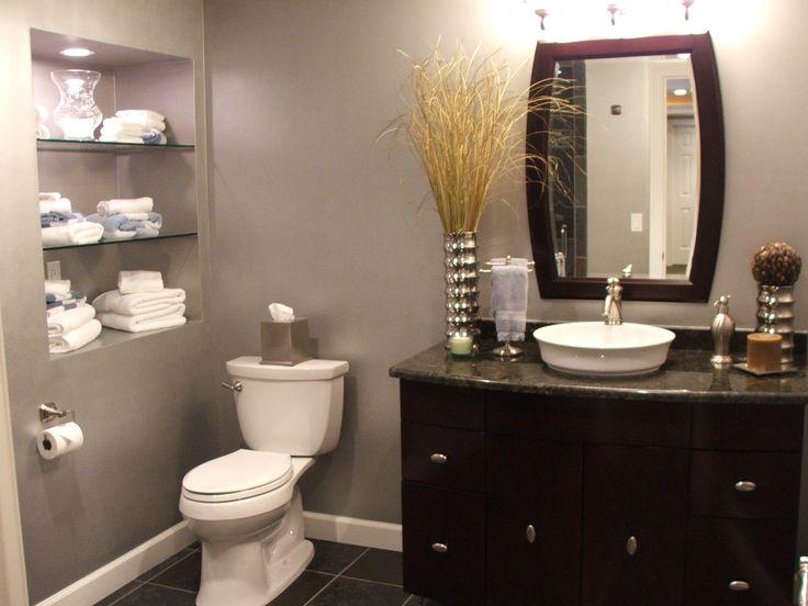 Beautiful Finish Bathroom In Basement