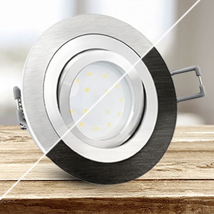 10 besten LED Einbaustrahler \ Einbauleuchten flach Bilder auf
