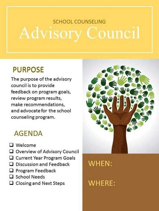 Advisory Council Invite - Editable! How to make your advisory council your biggest advocacy tool.