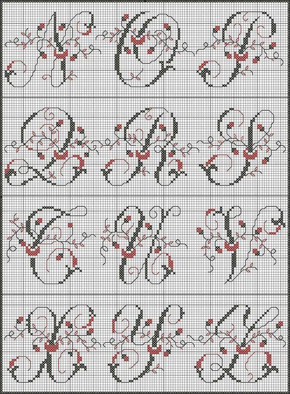 Monogram Alphabet - Bribris and Co.