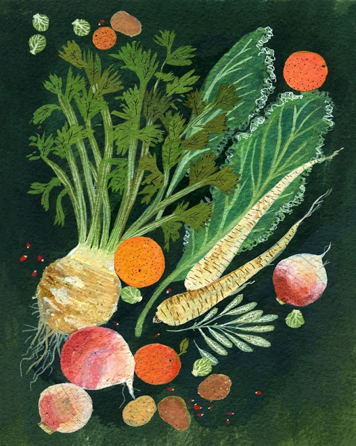 Idea for a modified root or stem collage. Becca Stadtlander