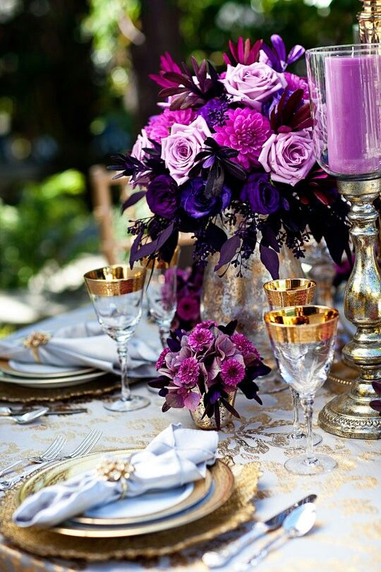 Radiant orchid wedding ideas