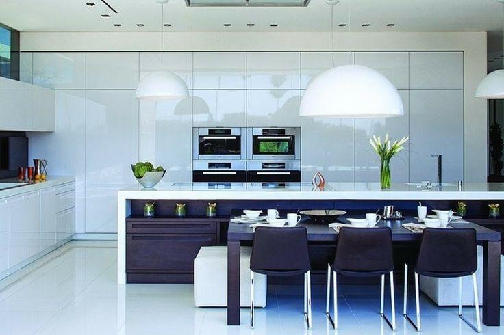 Idee Salle De Bain Rouge Et Blanc :  à propos de кухня sur Pinterest  Cuisine, Design et Cuisines