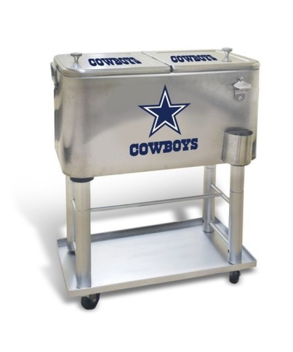 New Playaction #NFL #Dallas Cowboys 60 Quart Detachable Stainless Sports Cooler  from $119.0