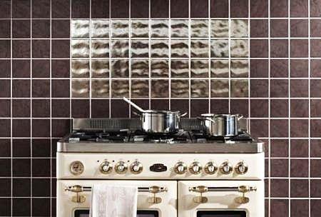 Black Kitchen Wall Tile Design Ideas