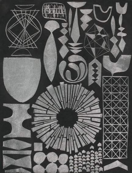 Fragments 05 - graphite on paper