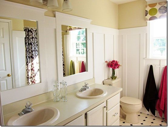 Merveilleux Beadboard Bathrooms | Heart Beadboard  Updated Bathroom Tutorials | Bathroom .