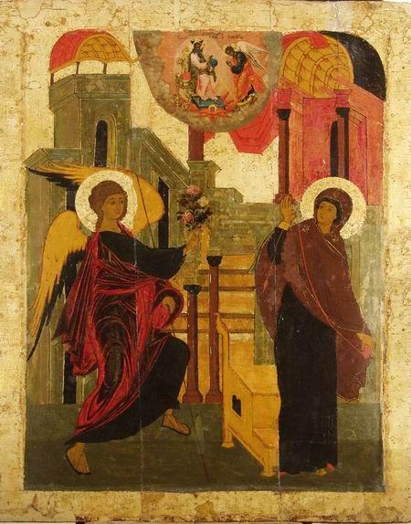 Благовещение.Ярославская иконопись XVI-XVI