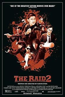 2014 Indonesian martial arts flix. It is the sequel to the 2011 film The Raid: Redemption. Crappy on the story-line, but what do you expect from that bule guy - Gareth