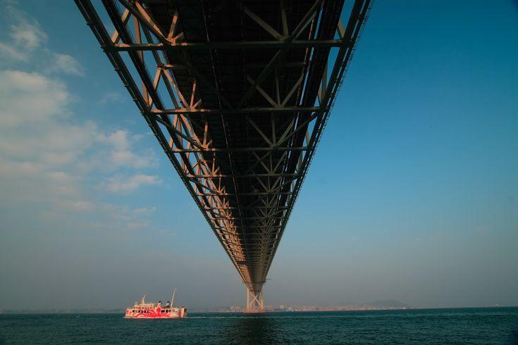 Akashi Kaikyo Great Bridge, Hyogo, Japan: photo by mptfk