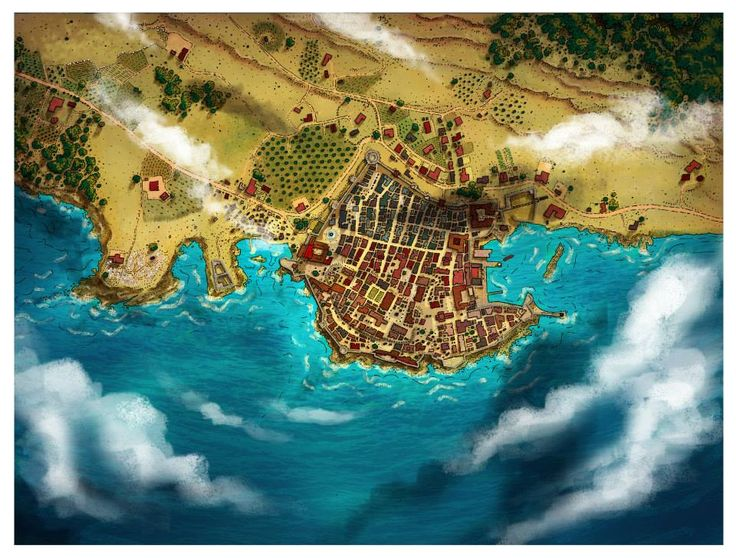 184 best maps images on pinterest fantasy map dungeon maps and based upon dubrovnik this is a recent map hand drawn with ink pens and colored by alberto tavira espinar sciox Images