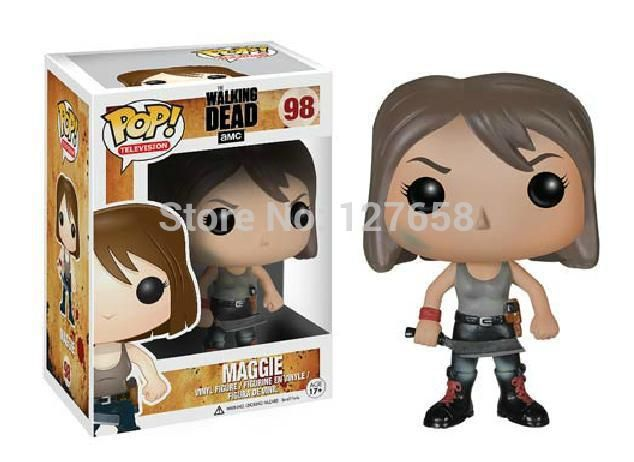 Funko Pop The Walking Dead Vinyl Doll Figure Collection - Maggie The Walker Store    http://thewalkerstore.com/funko-pop-the-walking-dead-vinyl-doll-figure-collection-maggie/