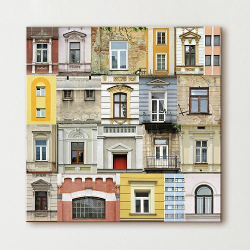 17 best images about tableau urbain on pinterest coins for Decoration murale urbaine