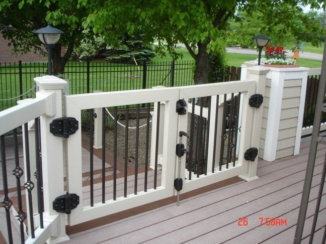 Vinyl Deck Gate Kits Vinyl Railing Gates Yourrailing