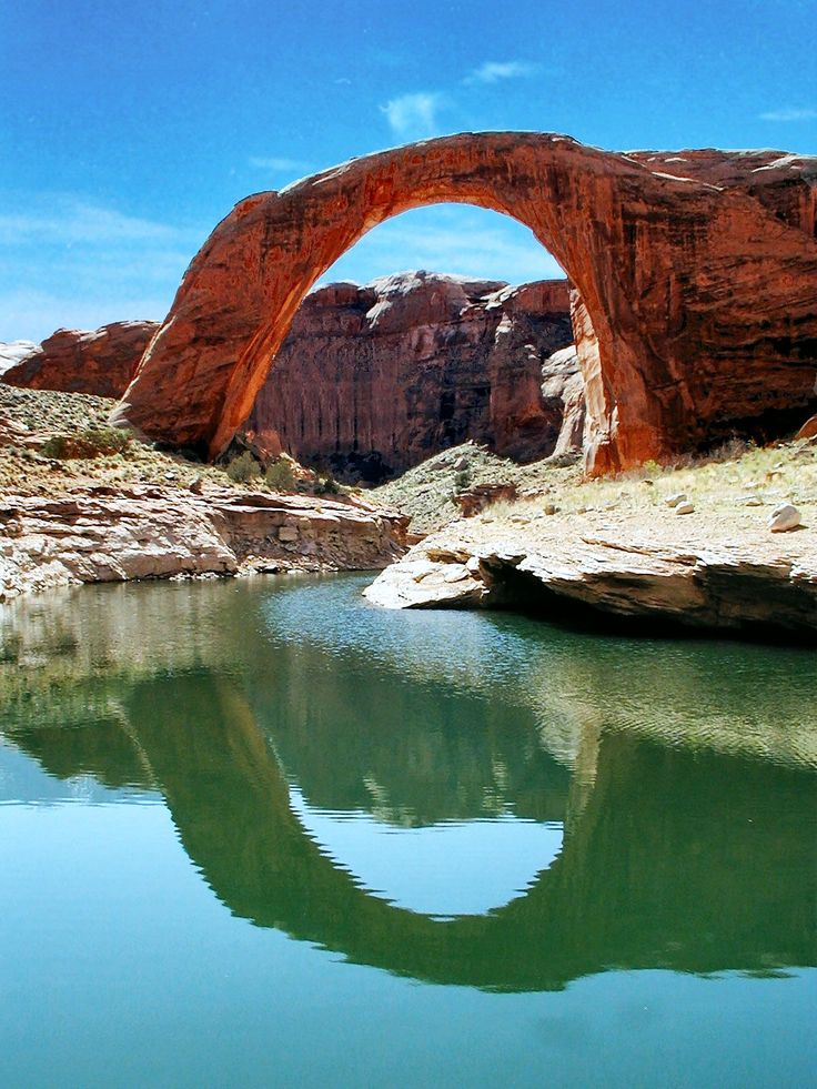 Rainbow Bridge Lake Powell. I want to go see this place one day. Please check out my website thanks. www.photopix.co.nz