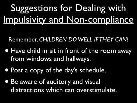 Dana TillerDavis,LPC, outpatient therapist at Clarity Child Guidance Center talks about how to help ADHD students in the classroom.