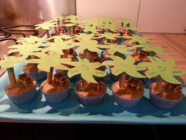 Schateiland cupcakes - www.activitheek.nl